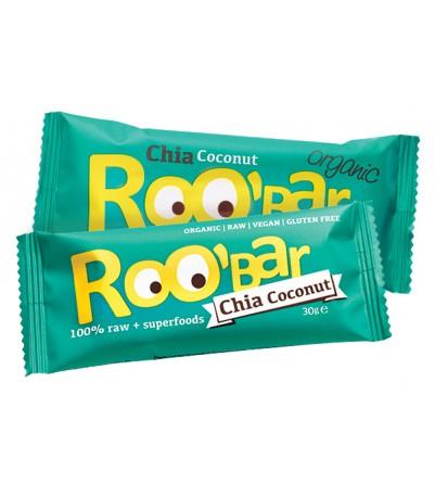 Roobar øko chia og kokosnød